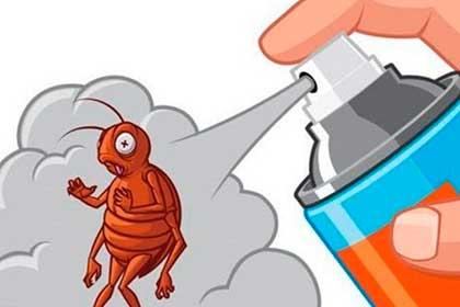 Рисунок - спрей от тараканов