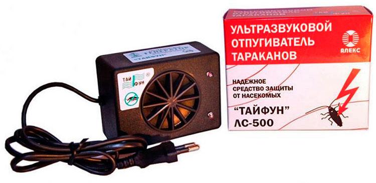 Ультразвуковой отпугиватель тараканов – Тайфун ЛС-500