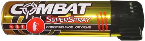 Спрей Combat от насекомых