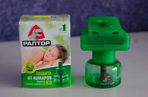 Фумигатор Раптор от комаров и моли