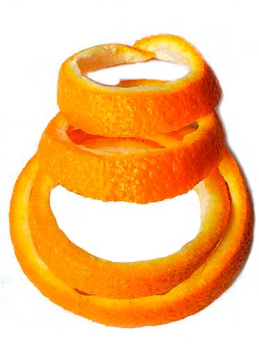 Корки апельсина от моли