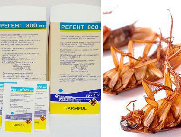 Как использовать средство от тараканов Регент
