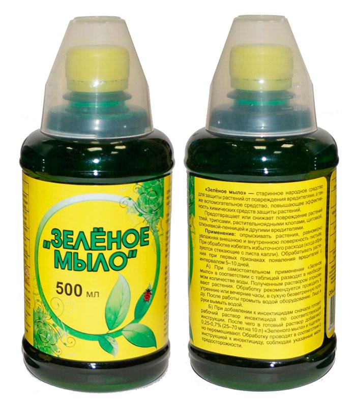 Зелёное мыло для борьбы с паразитами на комнатных растениях