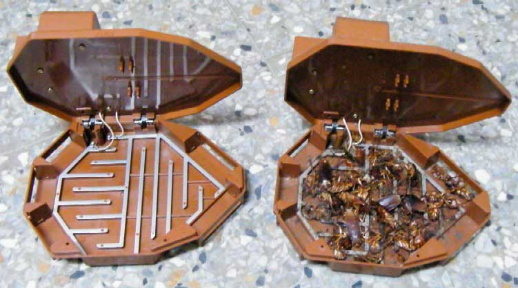 Электро-ловушка для тараканов