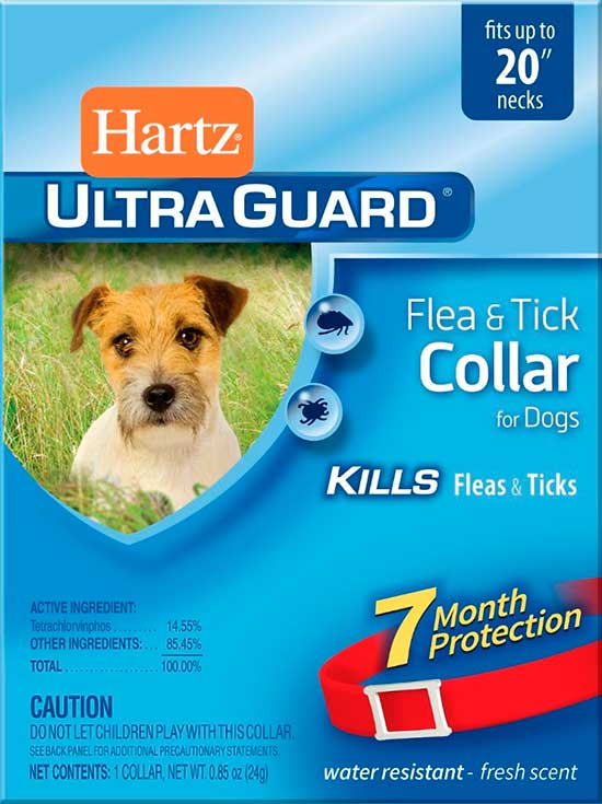Hartz UltraGuard Flea & Tick Collar ошейник для собак