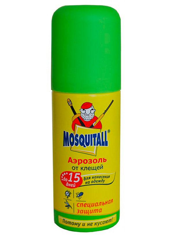 Аэрозоль Mosquitall Специальная защита от клещей