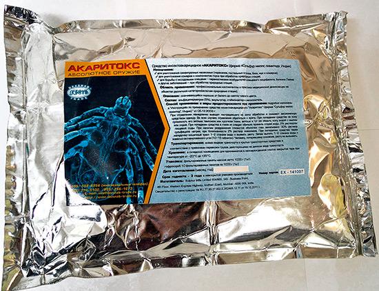Акаритокс от клещей