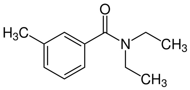 диэтилтолуамид формула