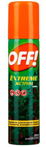 off extreme экстрим от клещей