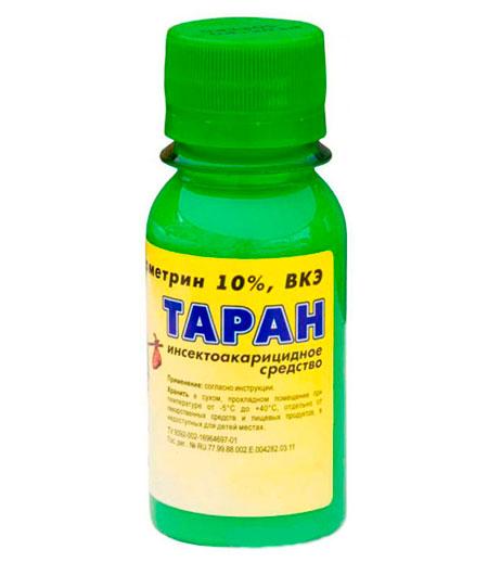 Таран - средство от клещей на даче