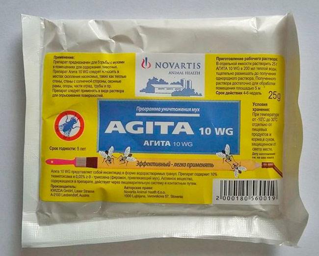 Средство от мух в доме - Агита (Agita)