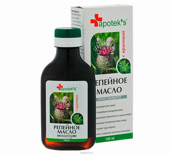 Репейное масло против вшей и гнид - лечим педикулез дома